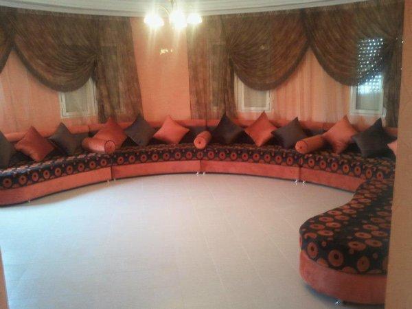 salons marocains 2012 2013  salon marocain moderne tapissier rideaux stors