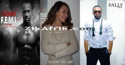 Fally Ipupa en pleine guerre avec son ami Capital FEMI pour l'actrice Ghaneene Nadia Buari