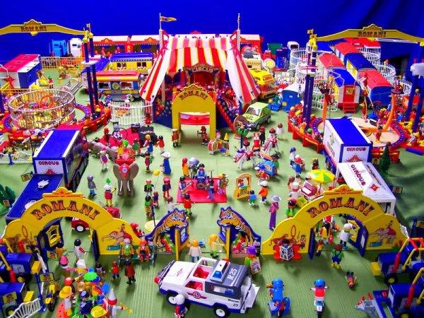 Playmobil cirque blog de la parade des cirques - Cirque playmobil ...