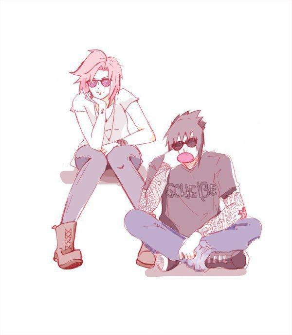 Amour-Sasusaku � pr�sente