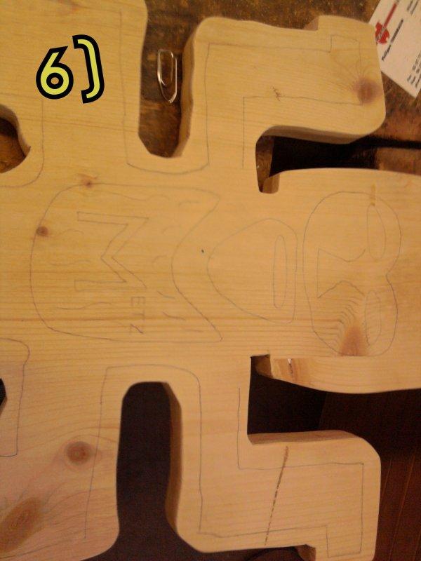 La cr�ation du totem de Koh-Lanta Metz en image!