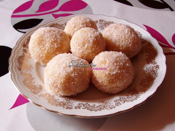 Boules � la noix de coco