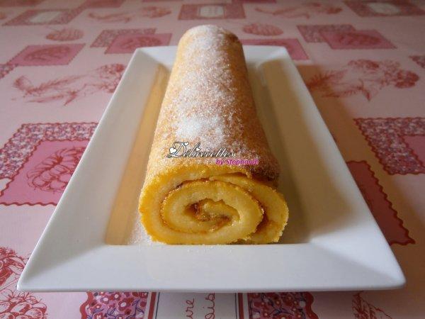 Torta de laranja (roul� � l'orange)