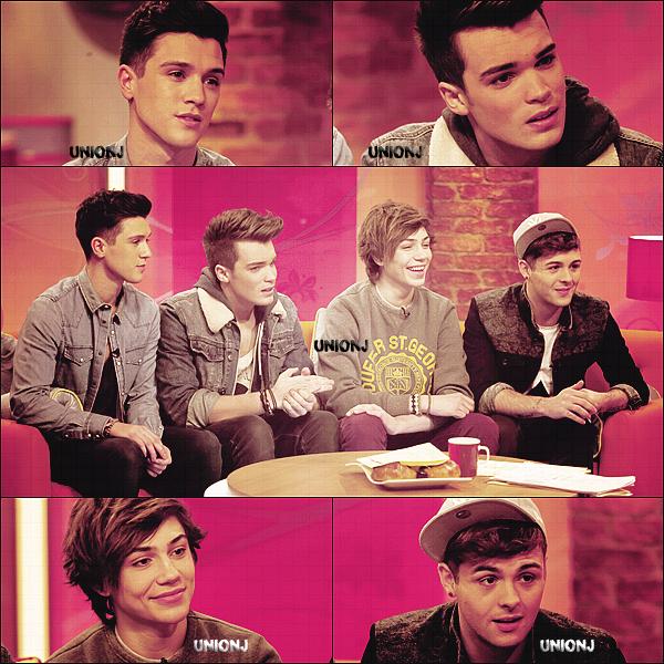 """23/11/2012: Les Union J ont fait une interview dans l'émission """"Day Break""""  (Cliquez sur l'image pour voir la vidéo)"""