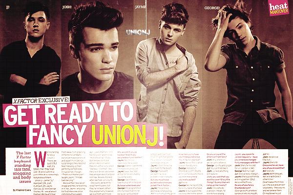 16/11/12: Les Union J arrivant aux studios de x Factor, pour r�p�ter: