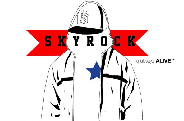 Pour d�fendre la libert� d'expression sur Skyrock - Affiche
