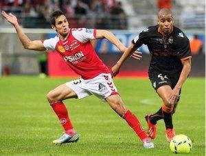 2012 Ligue 1 J37 REIMS LORIENT 1-0  , Chapeau JO Lièbus  le 18 mai 2013
