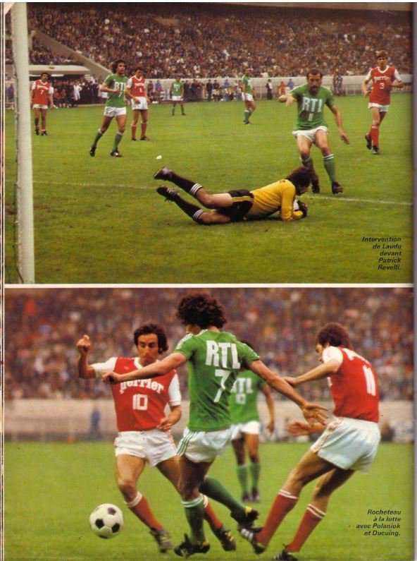 1976 cdf finale reims saint etienne 1 2 le diaporama le 18 juin 1977. Black Bedroom Furniture Sets. Home Design Ideas