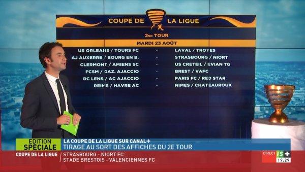 2016 CDL Tour 1 TIRAGE :  REIMS LE HAVRE, le 12/07/2016