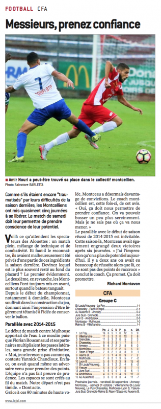 2016 CFA J06 MONTCEAU MULHOUSE 1-0, le 17/09/2016
