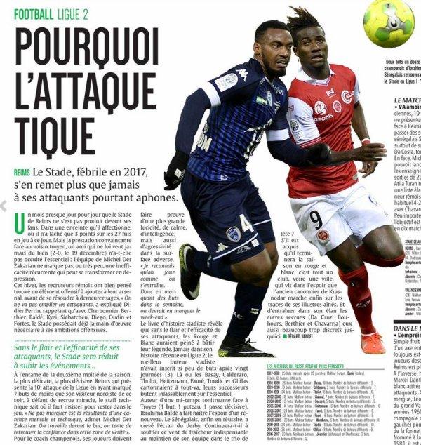 2016 Ligue 2 J21 REIMS VALENCIENNES, l'avant match, le 20/01/2017