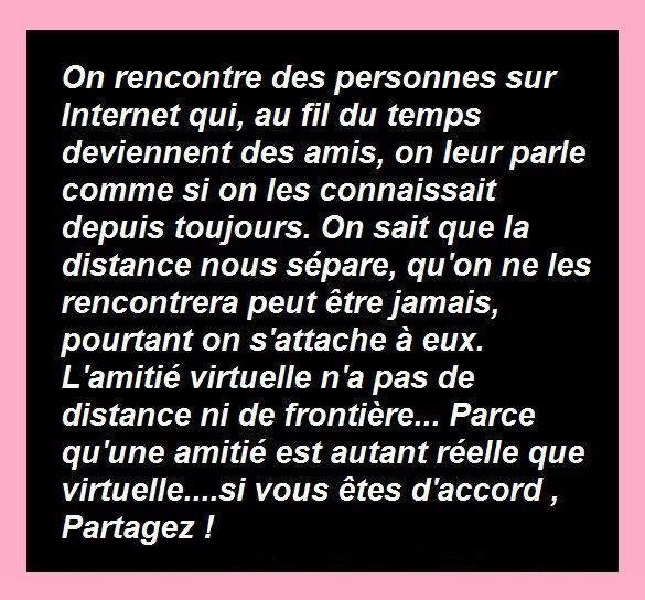 Rencontre virtuelle amour