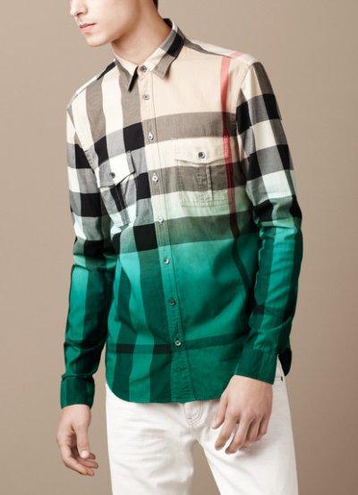 chemises burberry homme
