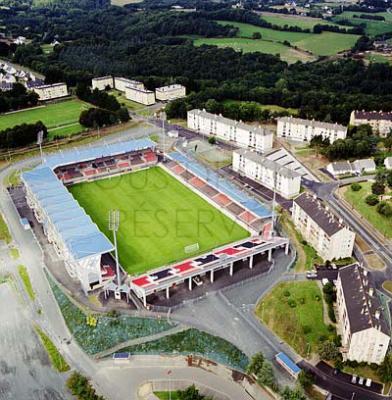 Le stade du Roudourou - ALLEZ GUINGAMP