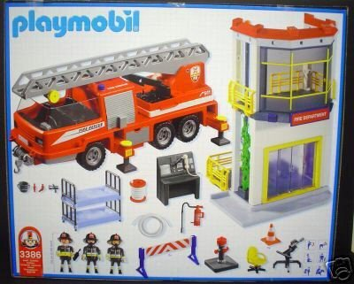 Blog de boble playmobil archive page 354 photo archive - Playmobil pompier caserne ...