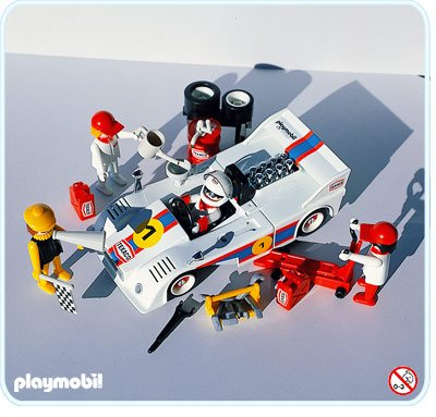 16d circuit auto kart moto 3520 voiture de course photo archive article playmobil. Black Bedroom Furniture Sets. Home Design Ideas