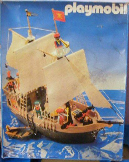 06 navire barque 3550 bateau pirate photo archive article playmobil. Black Bedroom Furniture Sets. Home Design Ideas