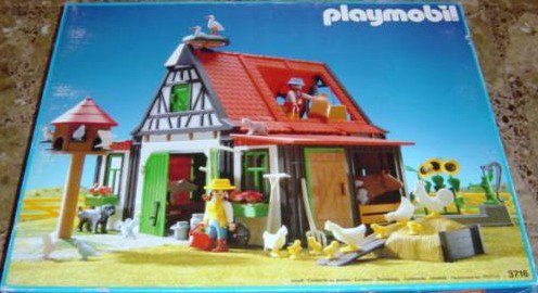 21 b timent basse cour 3716 ferme animaux photo archive article playmobil. Black Bedroom Furniture Sets. Home Design Ideas