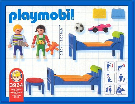 9a maison moderne interieur 3964 chambre enfant for Playmobil chambre enfant