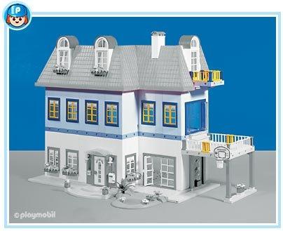 9 maison moderne 3965 maison moderne 7336 7337 7338 for Agrandissement maison moderne playmobil