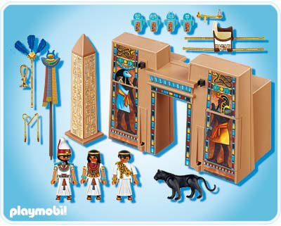 03a egypte orient 4243 pharaon et pyl ne de temple - Egypte playmobil ...