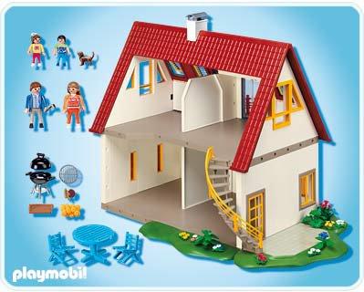 9 maison moderne 4279 villa moderne 7387 7388 7389 for Playmobil villa moderne maison 4279