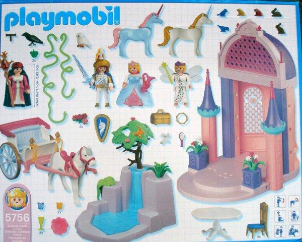 5a magie f erie licorne 5756 palais princesse photo for Palais princesse playmobil