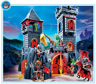 04 chateau forteresse 5757 chateau du dragon photo archive article playmobil. Black Bedroom Furniture Sets. Home Design Ideas