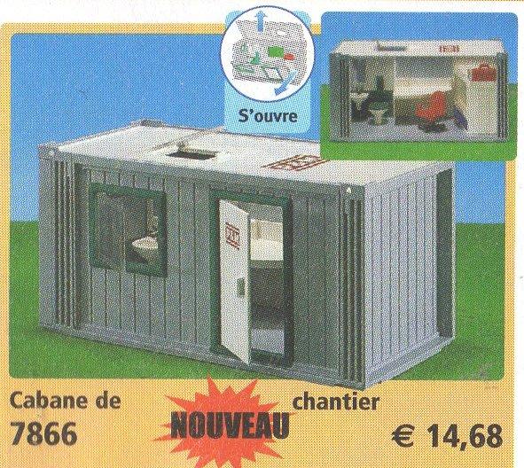 19a chantier divers 7866 cabane de chantier photo archive article playmobil. Black Bedroom Furniture Sets. Home Design Ideas