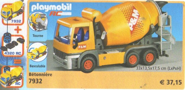 Blog de boble playmobil archive page 263 photo archive - Betonniere playmobil ...