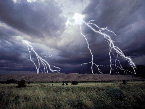 méditation et visualisation: les orages