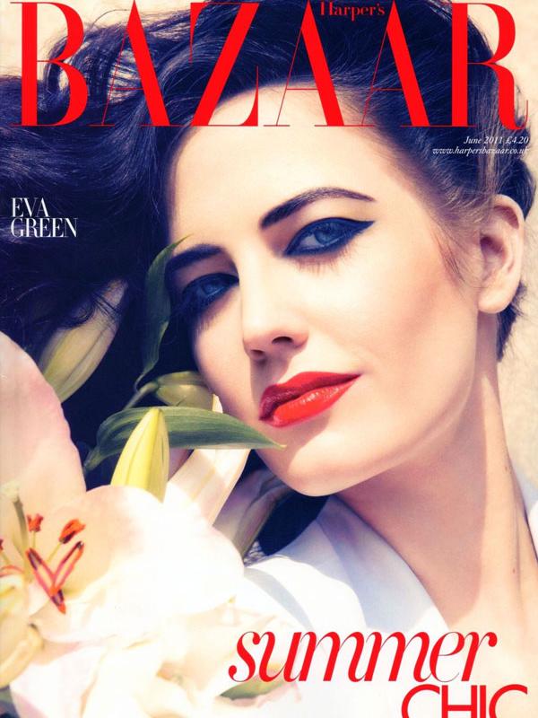 Eva Green for Harper's Bazaar UK ( June 2011 )
