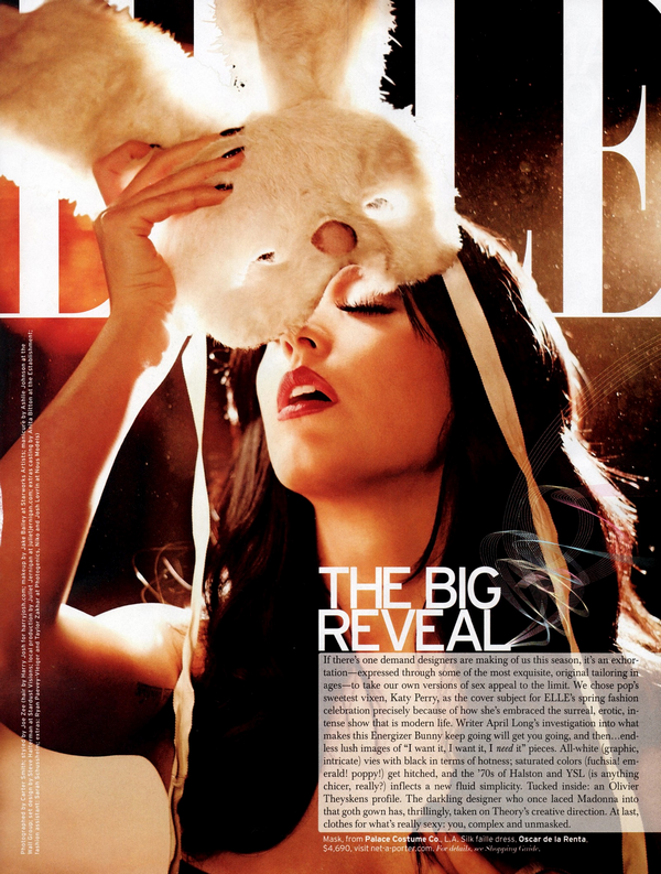Katy Perry for Elle Magazine ( March 2011 )