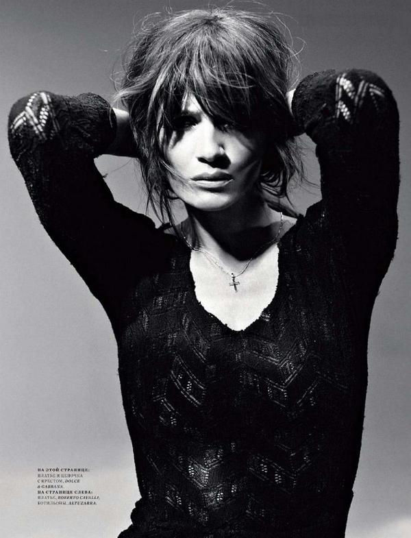 Helena Christensen for Harper's Bazaar Russia ( May 2011 )