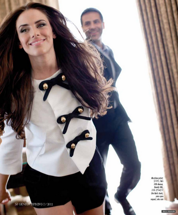 Jessica Lowndes for Genlux ( Spring 2011 )