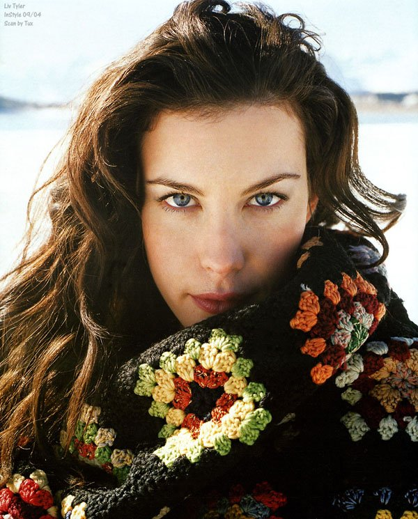 Liv Tyler for InStyle UK ( 2004 )