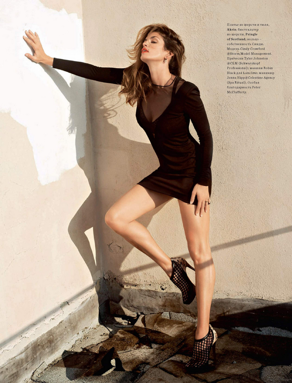 Cindy Crawford for Harper's Bazaar Russia ( May 2010 )