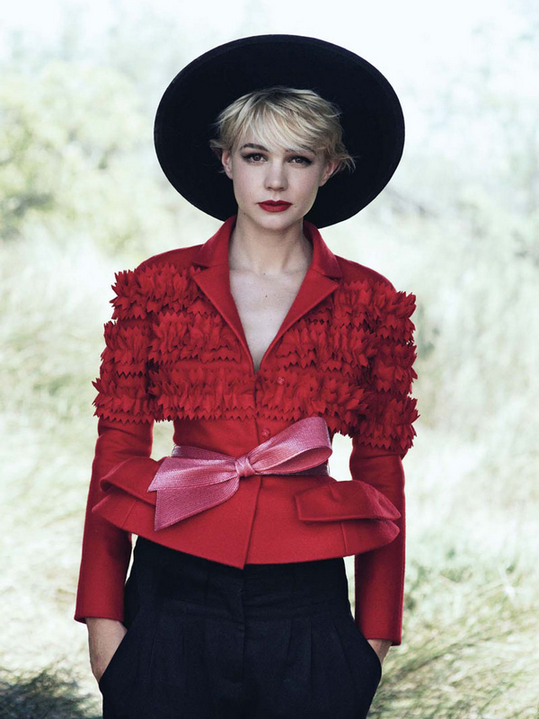 Carey Mulligan for Vogue US ( October 2010 )