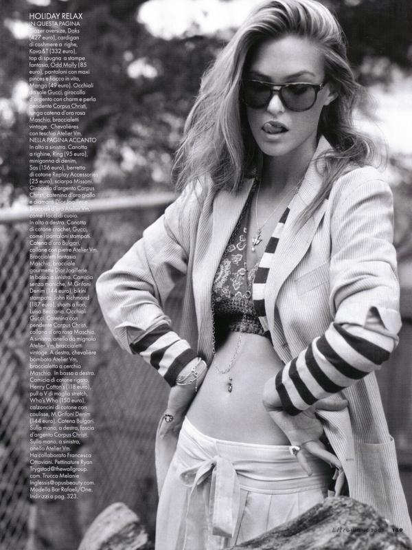 Bar Refaeli for Elle Magazine ( June 2009 )