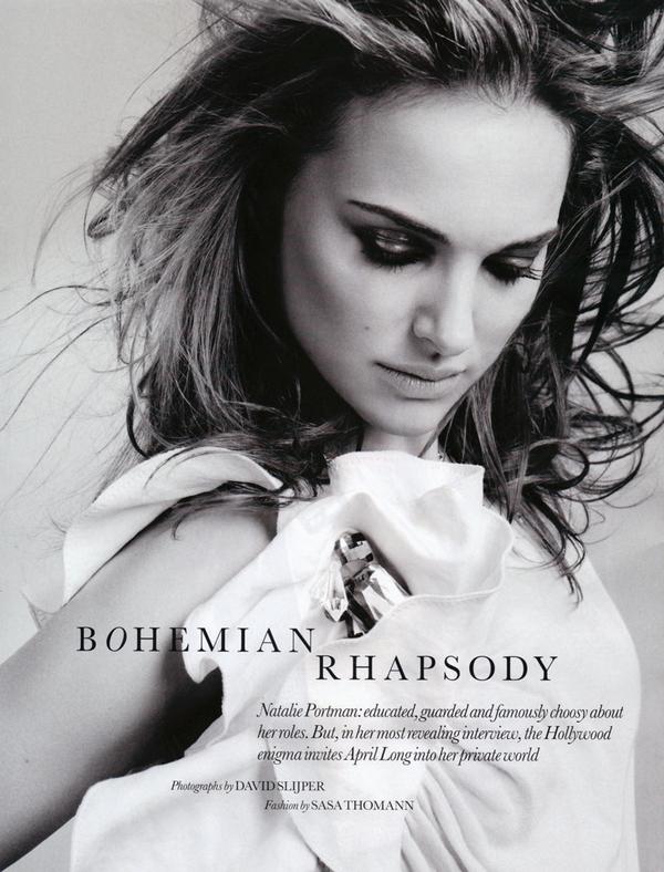 Natalie Portman for Elle UK ( February 2010 )