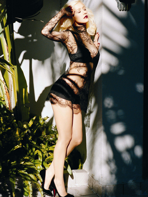 Christina Aguilera for Back to Basic ( 2007 )