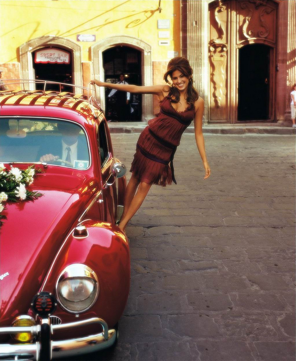 Eva Mendes for InStyle