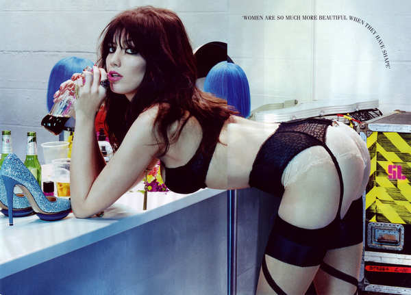 Daisy Lowe for GQ ( April 2011 )
