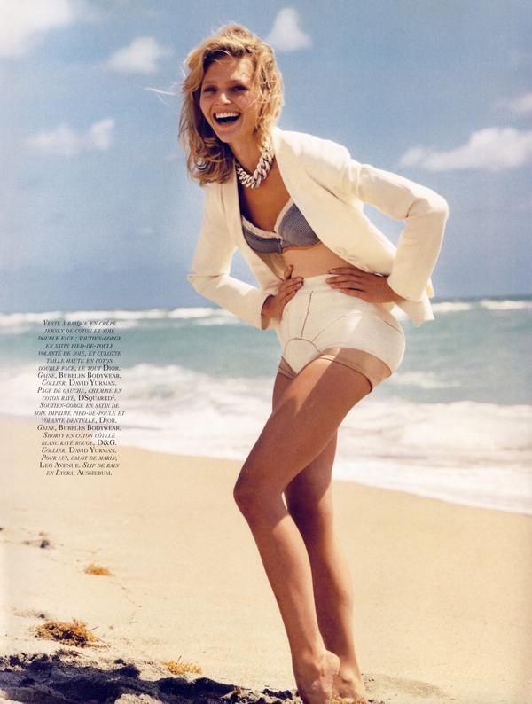 Sasha Pivovarova for Vogue Paris ( June 2009 )