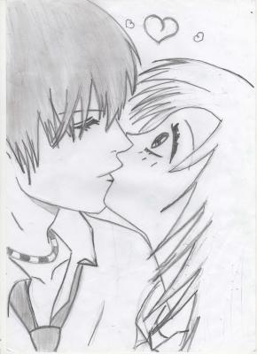 Dessin du grand amour mon monde a moi - Dessin manga amoureux ...