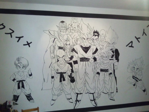 Chambre dragon ball z blog de decoration chambre for Decoration dragon ball