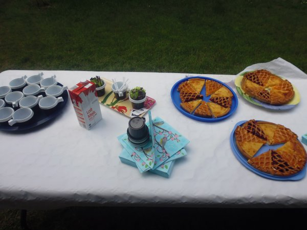 barbecue annuel du club super journee