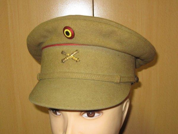 Képi sous officier d'artillerie belge ww2