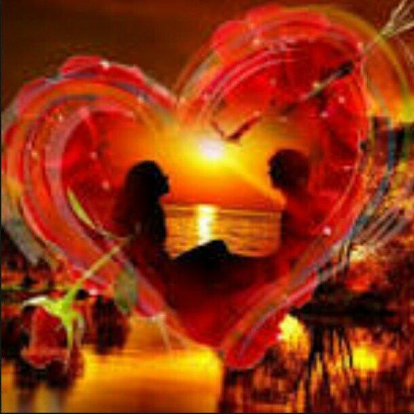 Cadeau du plus profond de mon coeur pour mon amour de ma - L heure du coucher du soleil aujourd hui ...