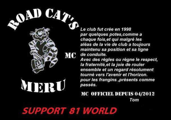 """""""MC  ROAD CAT'S"""""""
